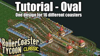 Roller Coaster Tycoon Classic - Tutorial - Oval