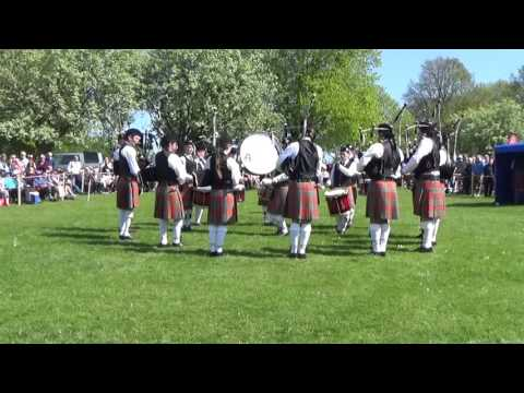Thiepval Memorial Pipe Band @ Ards & North Down Pipe Band Championships 2016