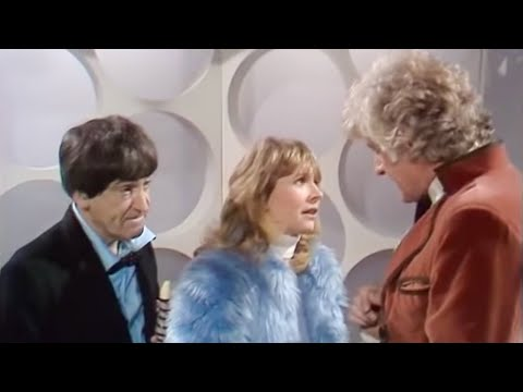 The Second Doctor meets the Third Doctor | The Three Doctors | Doctor Who | BBC