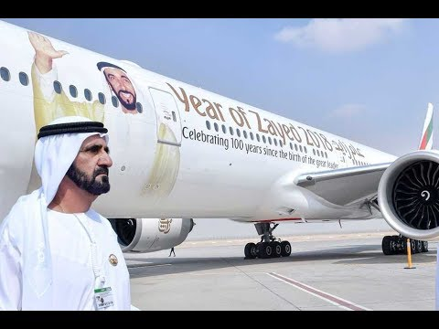Dubai Brand New Planes  أفخم الطائرات في دبي