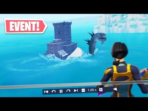 Wielki potwór ZNALEZIONY w wodzie! (Event w Fortnite)