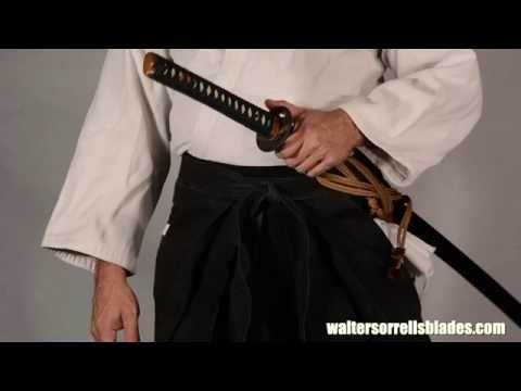Japanese Swords - Assembly, Disassembly, Terminology