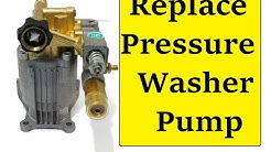 Replace your Pressure Washer Pump