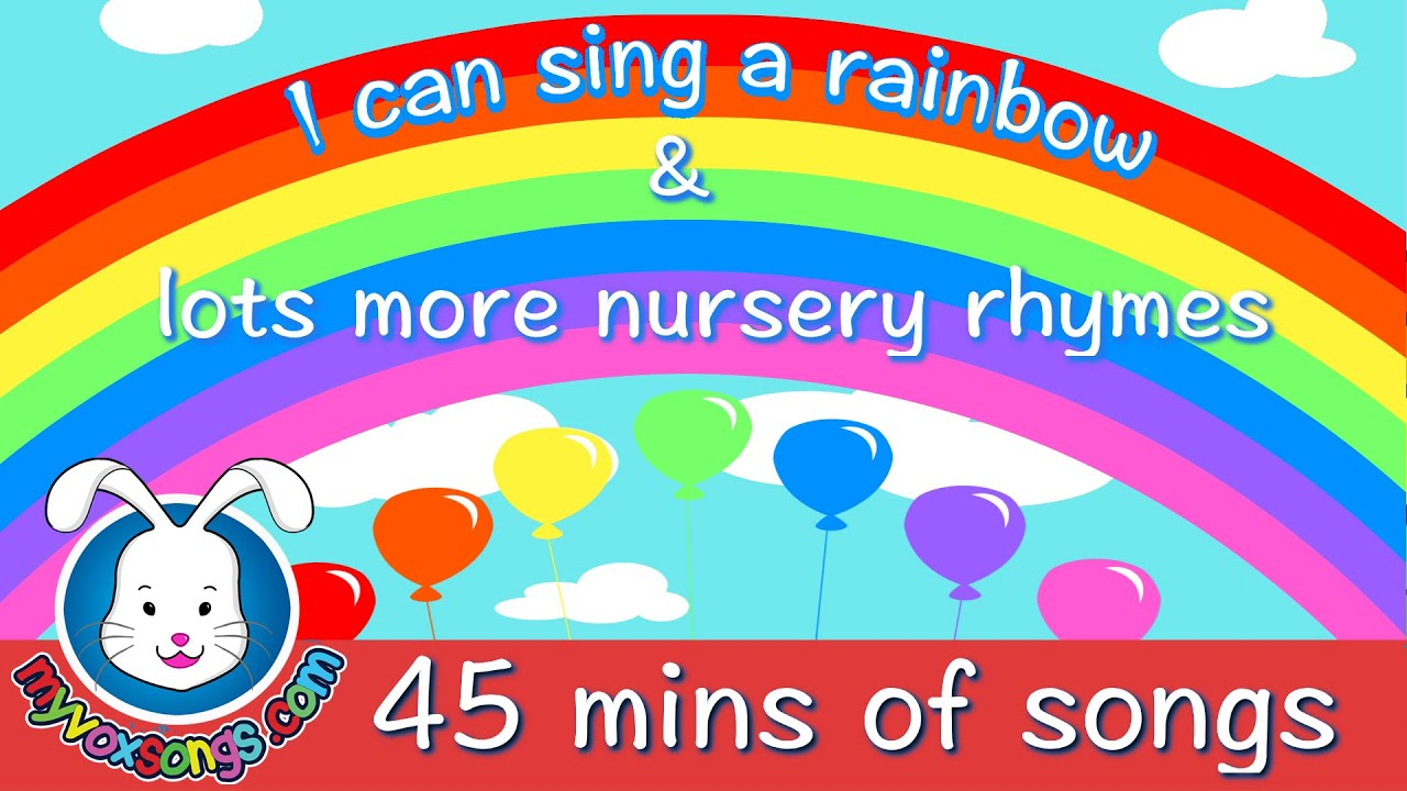 We Can Do Lots More For Students With >> I Can Sing A Rainbow Lots More Nursery Rhymes Youtube