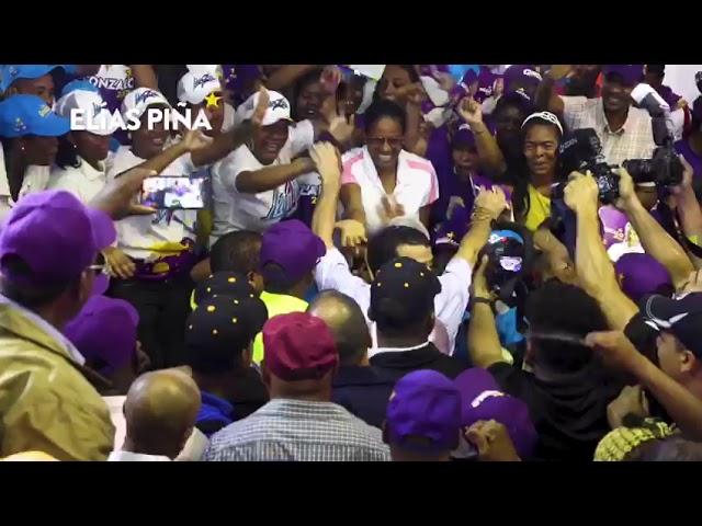 La provincia Elías Piña ratifica una vez más que GONZALO CASTILLO ta' gana'o.