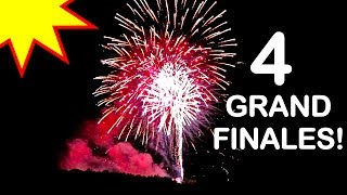 4 GRAND FINALES IN 1 FIREWORK SHOW?! 4TH OF JULY | MATT3756 VLOGS