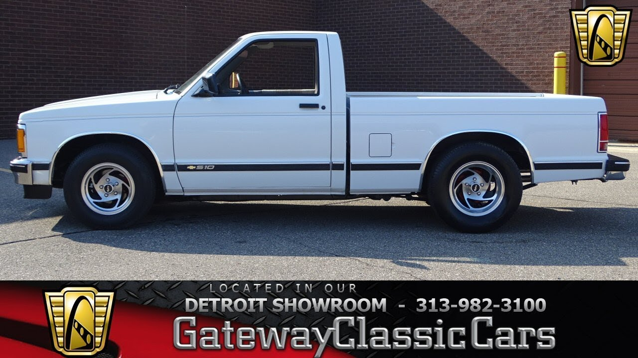 1992 Chevrolet S 10 Stock 1039 Det Youtube