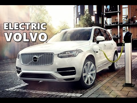 volvo electric car concept (based on cma) - youtube