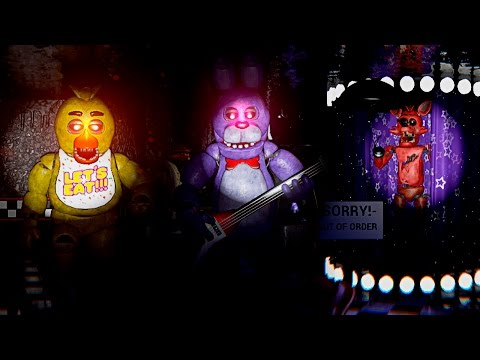 LOS ANIMATRONICOS VUELVEN A LA PIZZERIA LIBRES | FIVE NIGHTS AT FREDDY'S Unreal Engine 4 Español