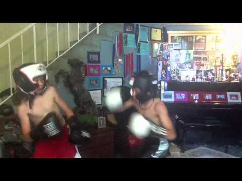 11 Year Old Boy Boxing AkA Jr PACman
