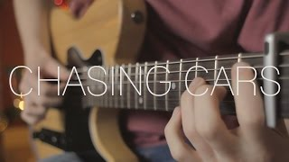 Snow Patrol - Chasing Cars - Fingerstyle Guitar Cover By James Bartholomew