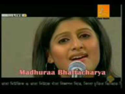 Tomay Chara Ghum Asena Maa Star Jalsha Maa  bY  Madhuraa Bhattacharya Live HIGH