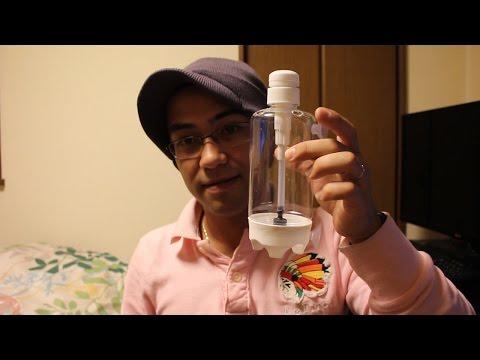 ブラインシュリンプ孵化器のD.I.Y/Chocadeira de Artêmias D.I.Y