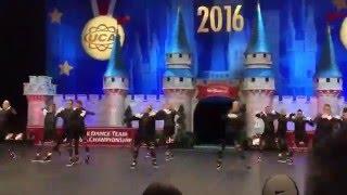 University of Cincinnati Dance Team Nationals 2016 Experience