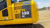 Kobelco 30 to 14 tonne SK130 and 140LC Excavators - YouTube