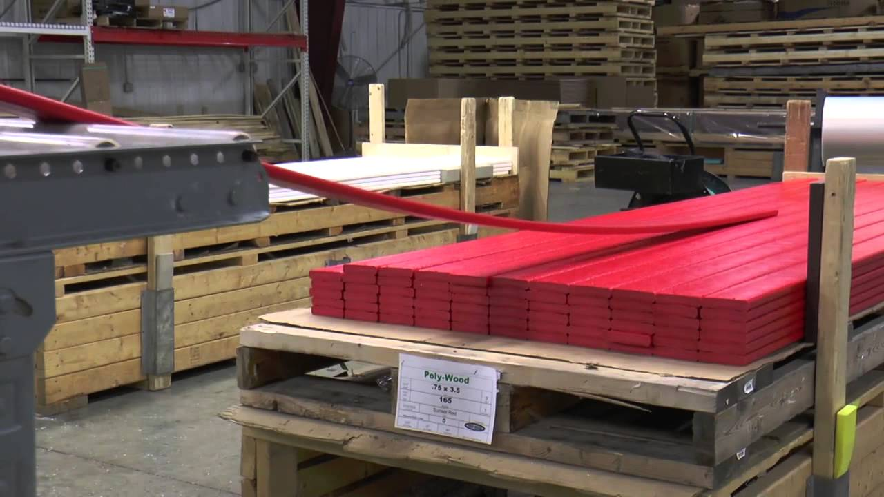 how to make plastic lumber