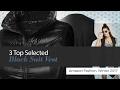 3 Top Selected Black Suit Vest Amazon Fashion, Winter 2017