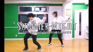 【台日情侶】三八與發狂的跳Summer Night dance cover|Elly X Taka