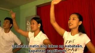 Tayo'y iisa with lyrics