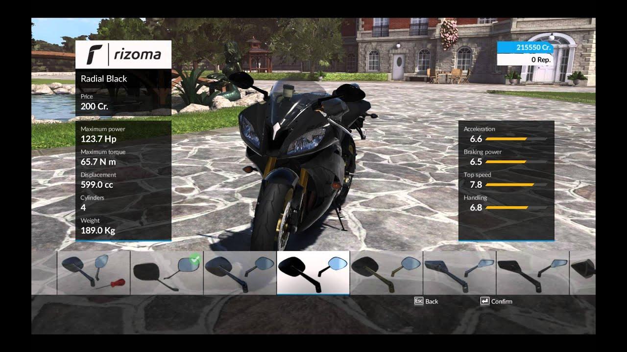 ride game yamaha r6 2015 customization options youtube. Black Bedroom Furniture Sets. Home Design Ideas