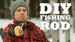 How To Make an Ice Fishing Rod