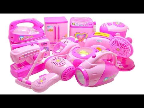 Mini Kitchen & Home Appliance Toys for Kids