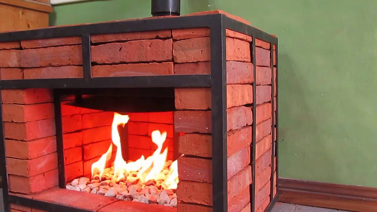 Chimenea hogar desmontable a gas natural viyoutube for Hogares modernos a gas