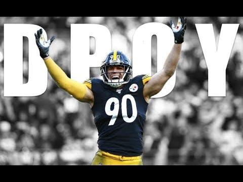 "TJ Watt    2019-2020 Steelers Highlights ""DPOY"" ᴴᴰ"