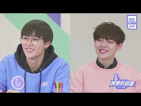 [ENG] Idol Xinfan EP11 Unaired Scenes: Trainees hold a nursery coloring class, part 2