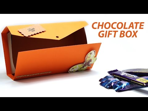 DIY Chocolate Box Making   Gift Box Ideas   Simple and Easy Gift Box Full Tutorial