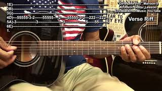 🤦 GIRLS LIKE YOU By Maroon 5 ft. Cardi B Acoustic Guitar Chords & Riffs Lesson Tutorial