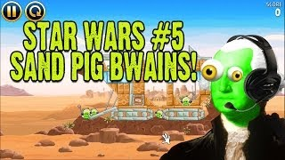 zgw plays angry birds star wars 5 stupid sandpigs bwains
