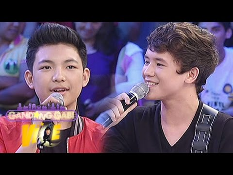 GGV: Darren, JK sing teleserye theme songs on GGV