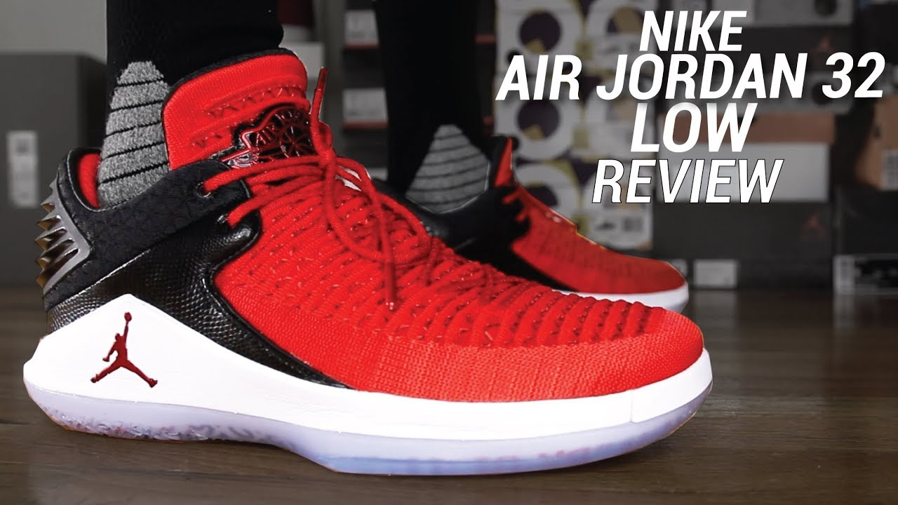 d20b50f5b38f AIR JORDAN 32 LOW WIN LIKE 96 REVIEW - YouTube