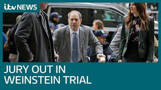 Jury begins deliberating in Harvey Weinstein rape trial   ITV News