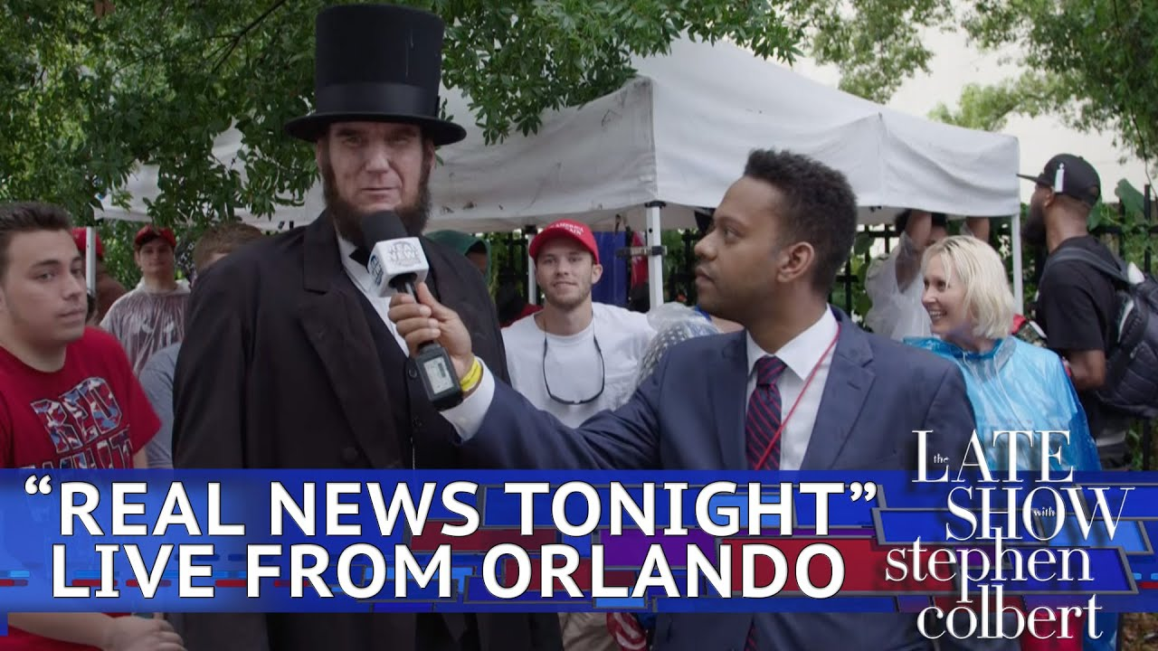 'Real News Tonight' Investigates Trump's Orlando Rally