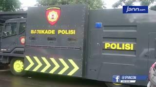 Pengamanan Empat Lapis dan Lapangan Bola untukNobarDebat Capres