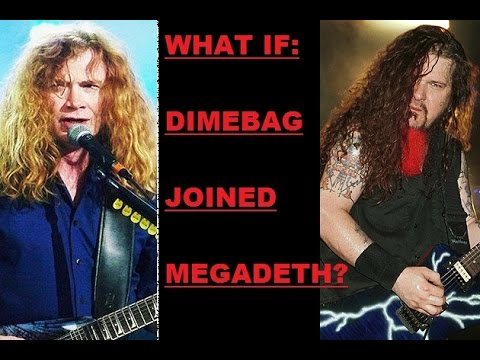 WHAT IF Dimebag Darrell Had Joined Megadeth?