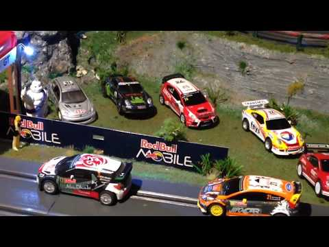 Slot, carrera go, rallye du var 2018, ES1&2 ,drift ,voitures, scalextric, 1/43