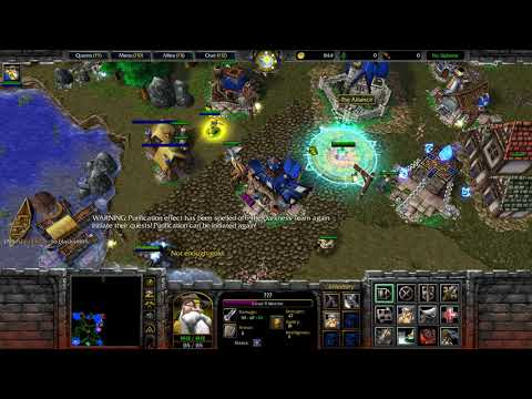 Warcraft 3: Darkness vs Live! (Living)