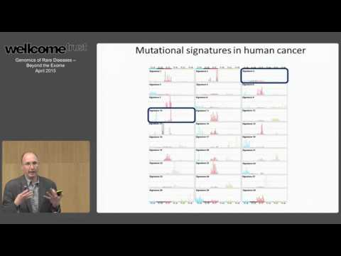 Signatures of Mutational Processes - Mike Stratton