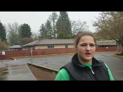 two students talk about racism in David Douglas high school