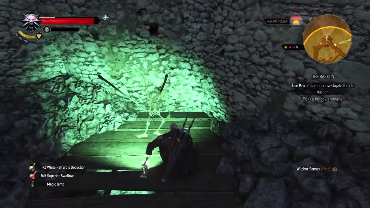 The Witcher 3: The Bastion walkthrough - YouTube