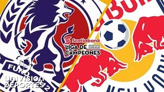 Olimpia 1-1 New York Red Bulls - RESUMEN + HIGHLIGHTS - CONCACAF Champions League