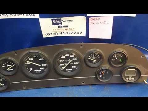 FOR SALE - Dash Panel, Tach, Speedometer, Fuel, Volt, Pressure Gauges $94.95 PK-18-6