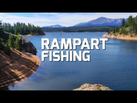 Rampart Reservoir Trout Fishing