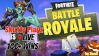 Fortnite Battle Royale Live! - Solo Grinding (100+ Solo Wins)! | Giveaway???