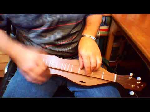 The Sussex Carol on octave dulcimer
