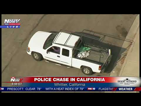 WATCH: VERY DANGEROUS Police Chase in California