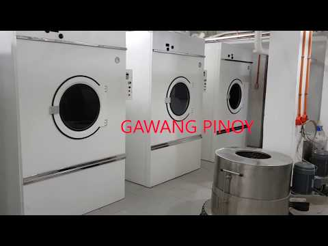 PRACTICAL HEAVY-DUTY INDUSTRIAL LAUNDRY MACHINERY